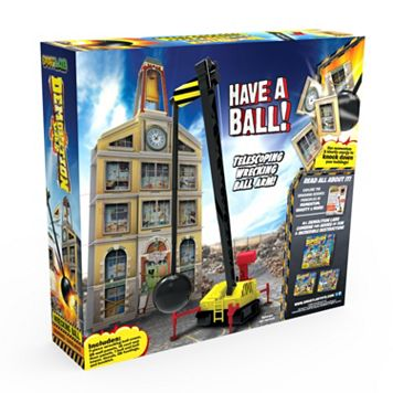 Demolition Lab Wrecking Ball by SmartLab Toys
