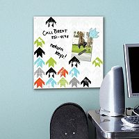 Arrow 5-piece Magnetic Dry Erase Wall Art Set