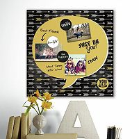 Quote Bubble 5-piece Magnetic Dry Erase Wall Art Set