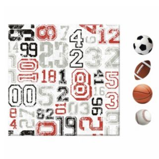 Sports 5-piece Magnetic Canvas Wall Art Set
