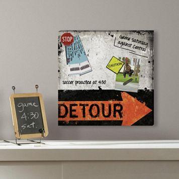 Detour 5-piece Magnetic Dry Erase Wall Art Set