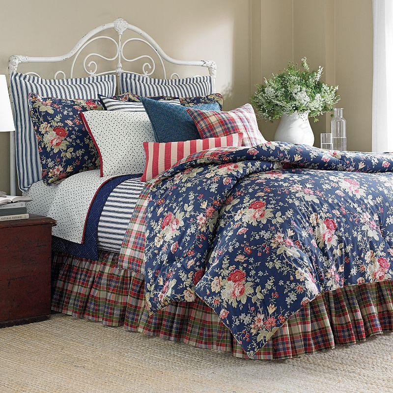 Chaps Home Cape Cod 4-pc. Reversible Comforter Set