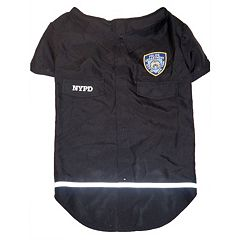 Royal Animals NYPD Woven Dog Shirt