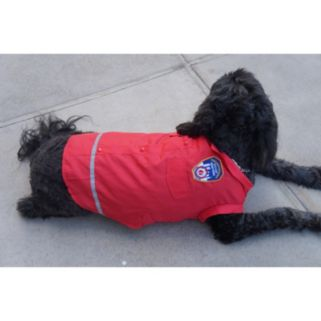 Royal Animals FDNY Woven Dog Shirt