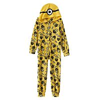 Minion Friends Hooded Pajamas - Girls 4-10
