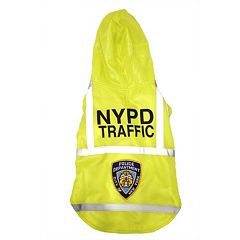 Royal Animals NYPD Traffic Reflective Dog Coat