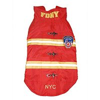 Royal Animals FDNY Reflective Dog Coat