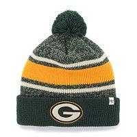 Adult '47 Brand Green Bay Packers Fairfax Beanie