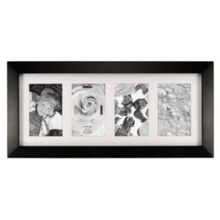 "Malden Berkeley 4-Opening 4"" x 6"" Black Collage Frame"