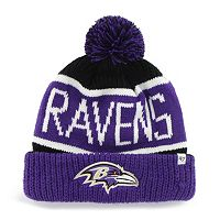 Adult '47 Brand Baltimore Ravens Calgary Cuffed Knit Hat