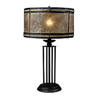 Dimond Mica Filigree Table Lamp