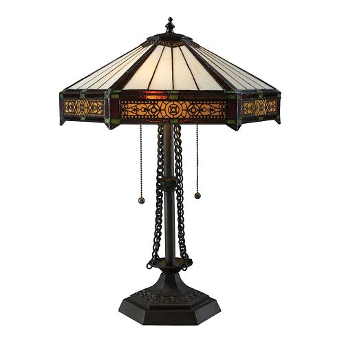 Dimond Filigree Tiffany Table Lamp