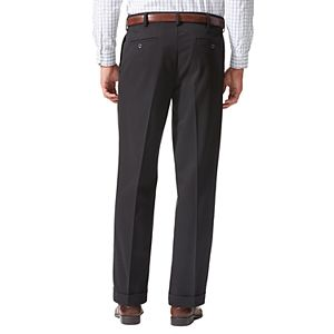 Men's Dockers® Relaxed Fit Comfort Stretch Pleated Cuffed Khaki Pants