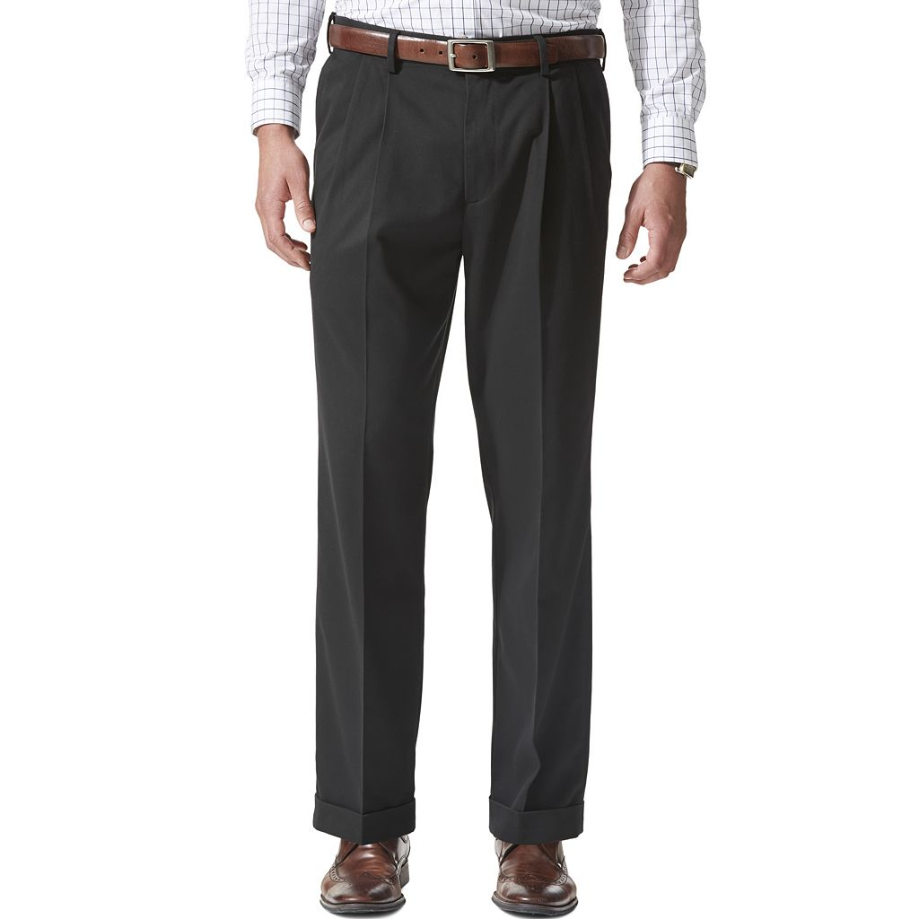 Men's Dockers® Relaxed Fit Comfort Stretch Khaki Pants - Pleated-Cuffed D4