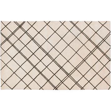 Artisan Weaver Gold Hill Crisscross Wool Rug