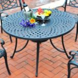Crosley Outdoor 46 in Sedona Cast Dining Table