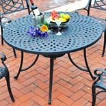 Crosley Outdoor 46-in. Sedona Cast Dining Table