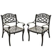 Crosley Outdoor 2-pc. Sedona Cast Arm Chair