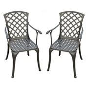 Crosley Outdoor 2-pc. Sedona High Arm Chair