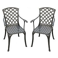 Crosley Outdoor 2 pc Sedona High Arm Chair