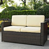Palm Harbor Outdoor Wicker Loveseat