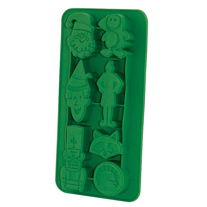 Elf 3-piece Pint Glass & Ice Cube Tray Set, Multi/None