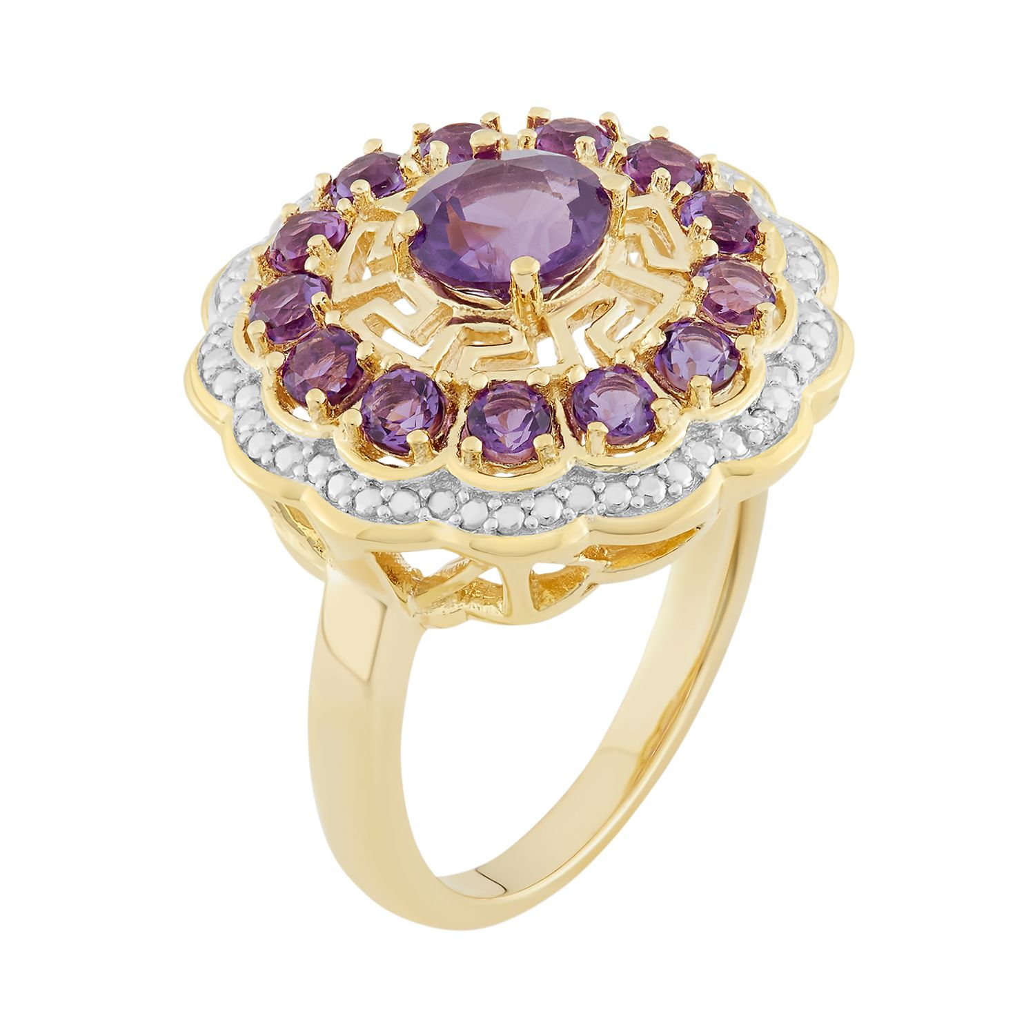 Womens Purple Diamond Rings, Jewelry | Kohl\'s