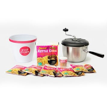Wabash Valley Farms 6-qt. Sweet & Easy Snack Machine Kettle Corn Popping Set