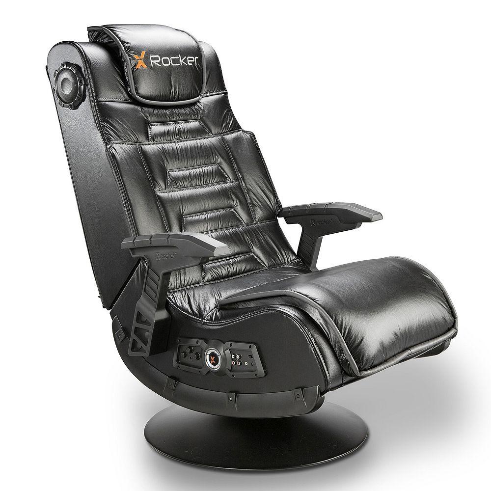 X Rocker Pro Series Pedestal Wireless Sound Vibration Gaming Chair