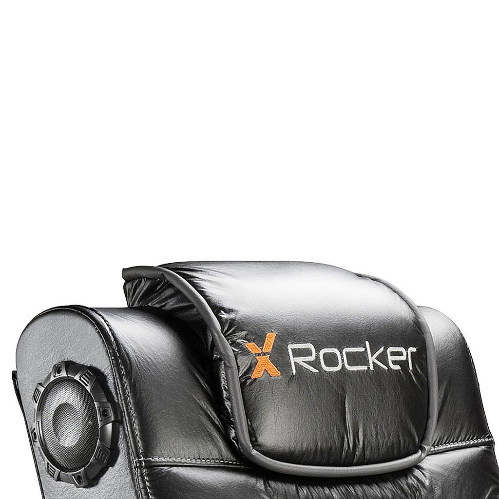 X-Rocker Pro Series Pedestal Wireless Sound & Vibration Gaming Chair