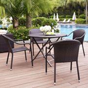 Palm Harbor 5 pc Café Dining Set