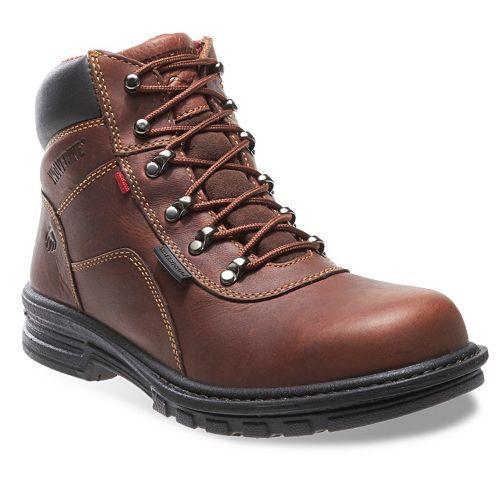 c3d074410f2 Wolverine Meteor Fusion Men's 6-in. Waterproof Steel Toe Work Boots