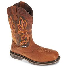Wolverine Roscoe Men's Waterproof Wellington Composite Safety Toe 10-in. Western Work Boots