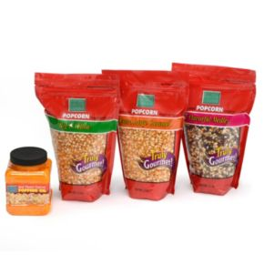 Wabash Valley Farms 4-pc. Real Movie Theater Popcorn Set