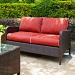 Kiawah Outdoor Wicker Loveseat