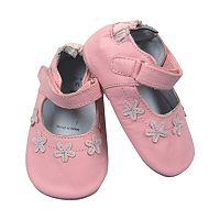 Tommy Tickle Floral Mary Jane Crib Shoes - Baby Girl