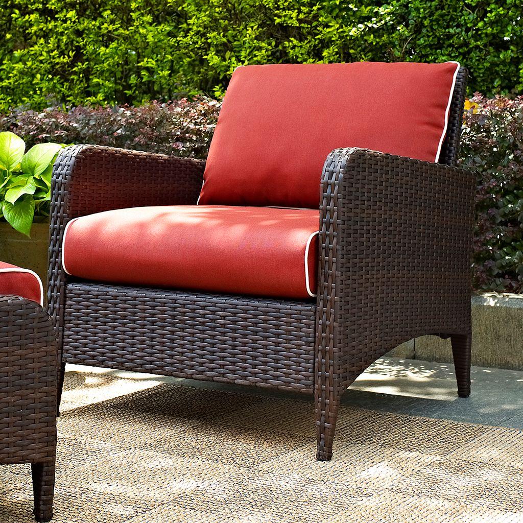 Kiawah Outdoor Wicker Arm Chair