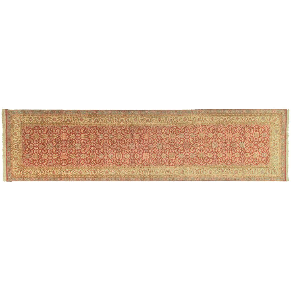Artisan Weaver Guernsey Framed Floral Wool Rug