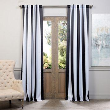 EFF Awning Striped Blackout Window Curtain - 50'' x 108''