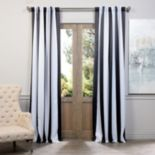 EFF Awning Striped Blackout Window Curtain - 50'' x 120''