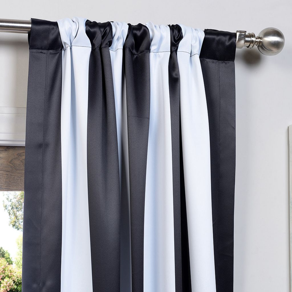 EFF Awning Striped Blackout Curtain - 50'' x 120''