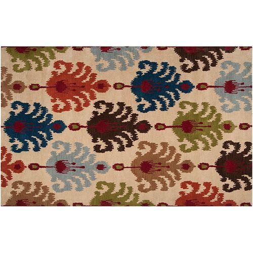 Artisan Weaver Gydan Ikat Wool Rug