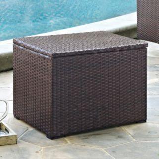 Crosley Outdoor Palm Harbor Outdoor Wicker Cooler