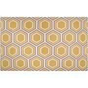 Artisan Weaver Haskell Lattice Reversible Wool Rug