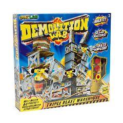 Demolition Lab Triple Blast Warehouse by SmartLab Toys