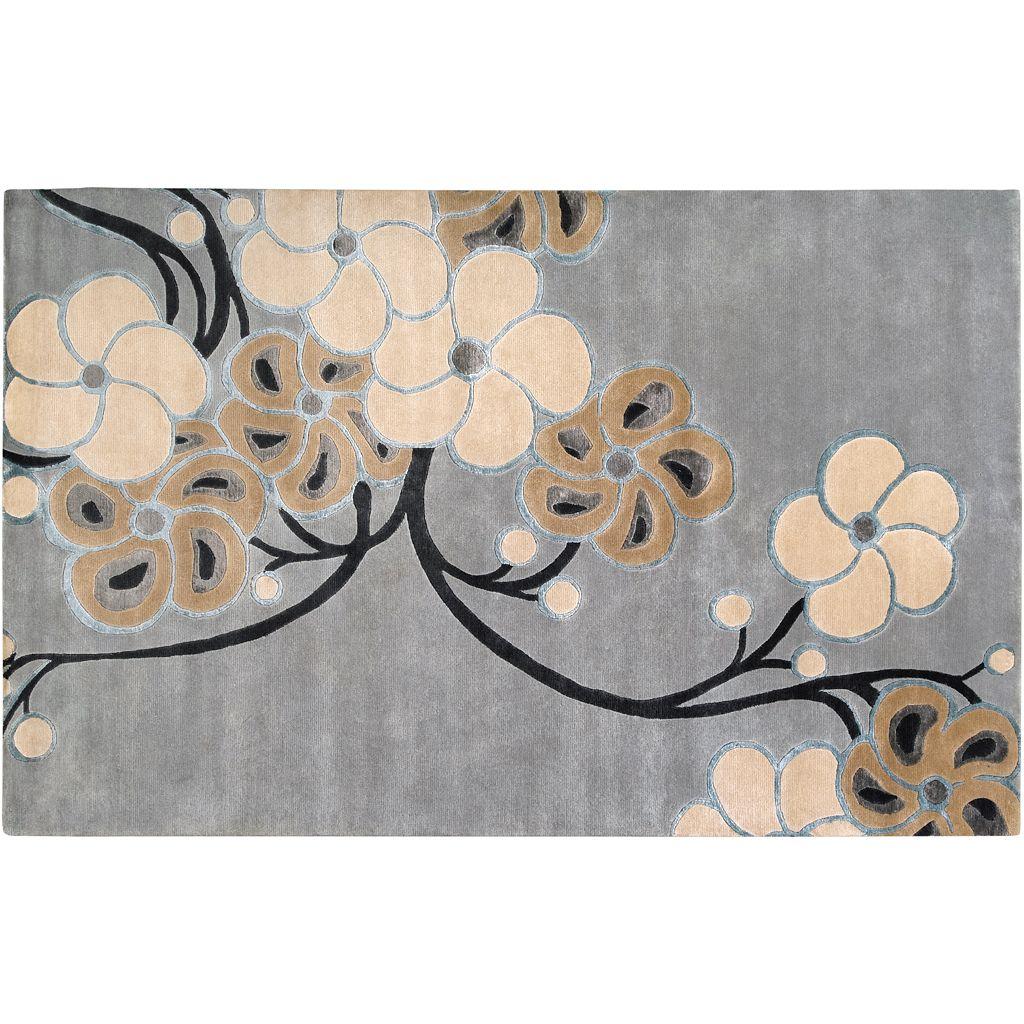 Artisan Weaver Hennessey Floral Wool Rug