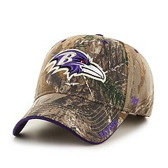 c8e3386a28469 Adult  47 Brand Baltimore Ravens Frost Realtree Camouflage Adjustable Cap
