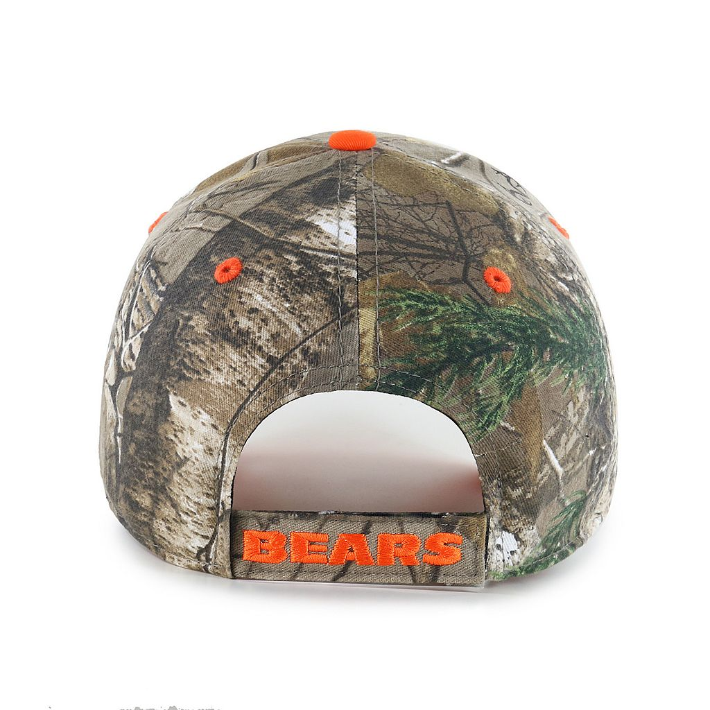 '47 Brand Chicago Bears Frost Realtree Camouflage Adjustable Cap - Adult