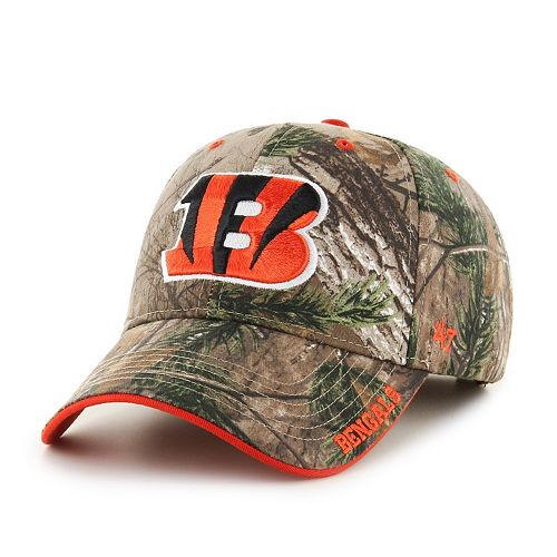 Adult '47 Brand Cincinnati Bengals Frost Realtree Camouflage Adjustable Cap