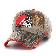 Adult '47 Brand Cleveland Browns Frost Realtree Camouflage Adjustable Cap